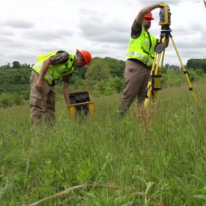 land survey and mapping