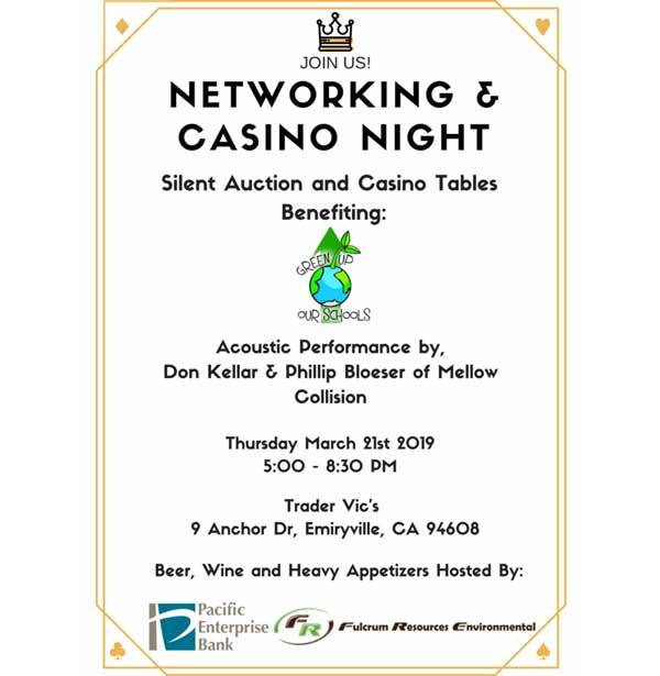 networking and casino night